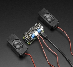 라즈베리파이 I2S 3W 스테레오 스피커 미니 키트 / Adafruit I2S 3W Stereo Speaker Bonnet for Raspberry Pi - Mini Kit [3346]